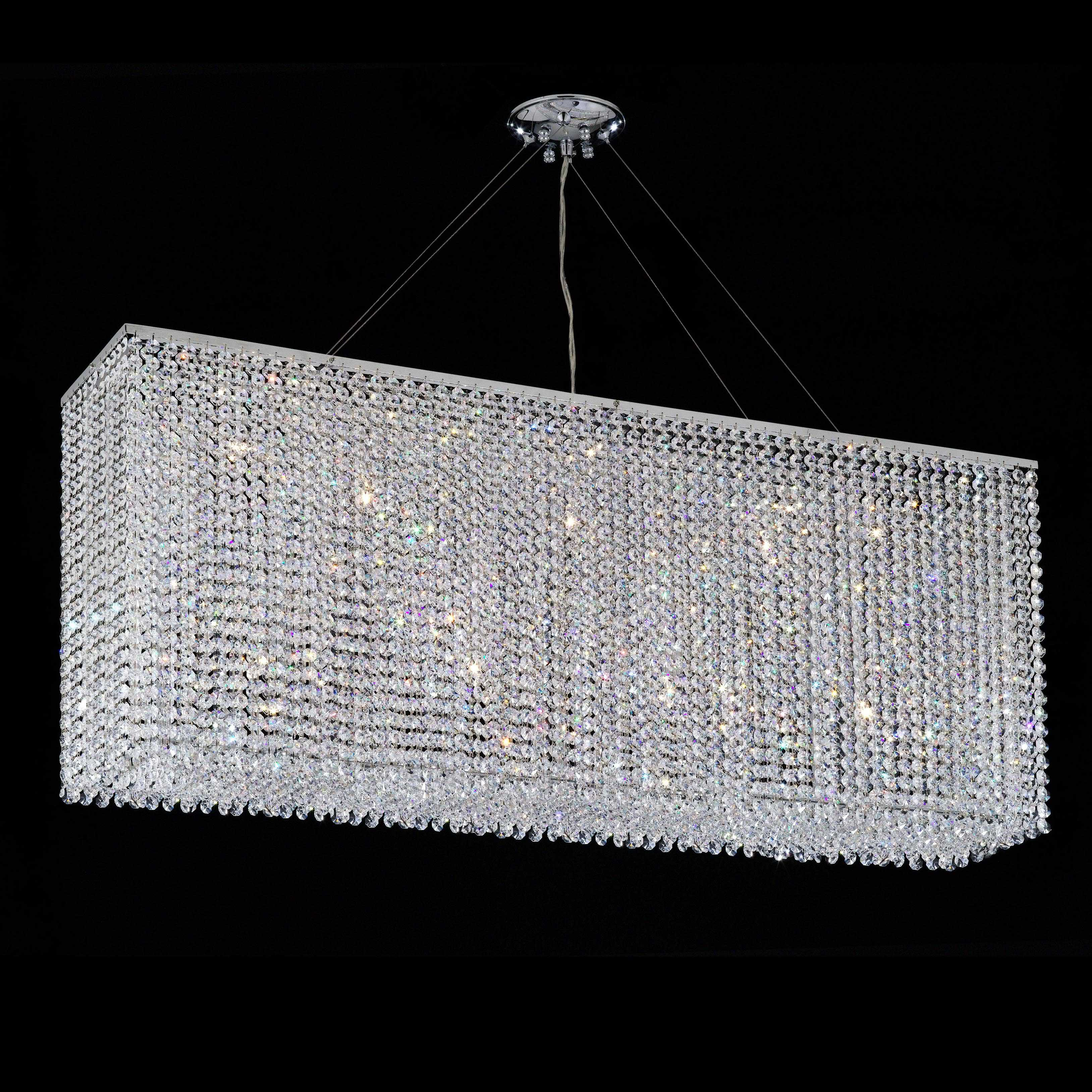Quadrix 42 inch grand chandelier with clear crystal 8430 42 quadrix 42 inch grand chandelier with clear crystal 8430 42 aloadofball Gallery
